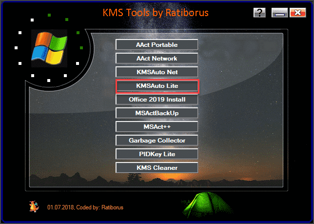 KMSAuto Net for Windows and Office