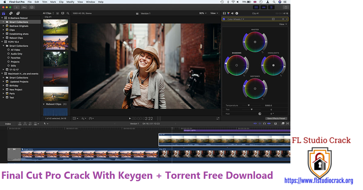 Final Cut Pro Crack With Keygen + Torrent Free Download