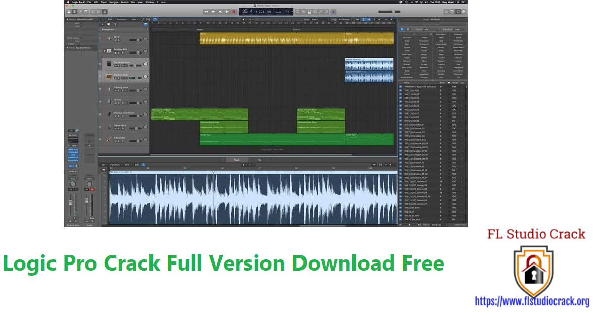 Logic Pro Crack Full Version Download Free