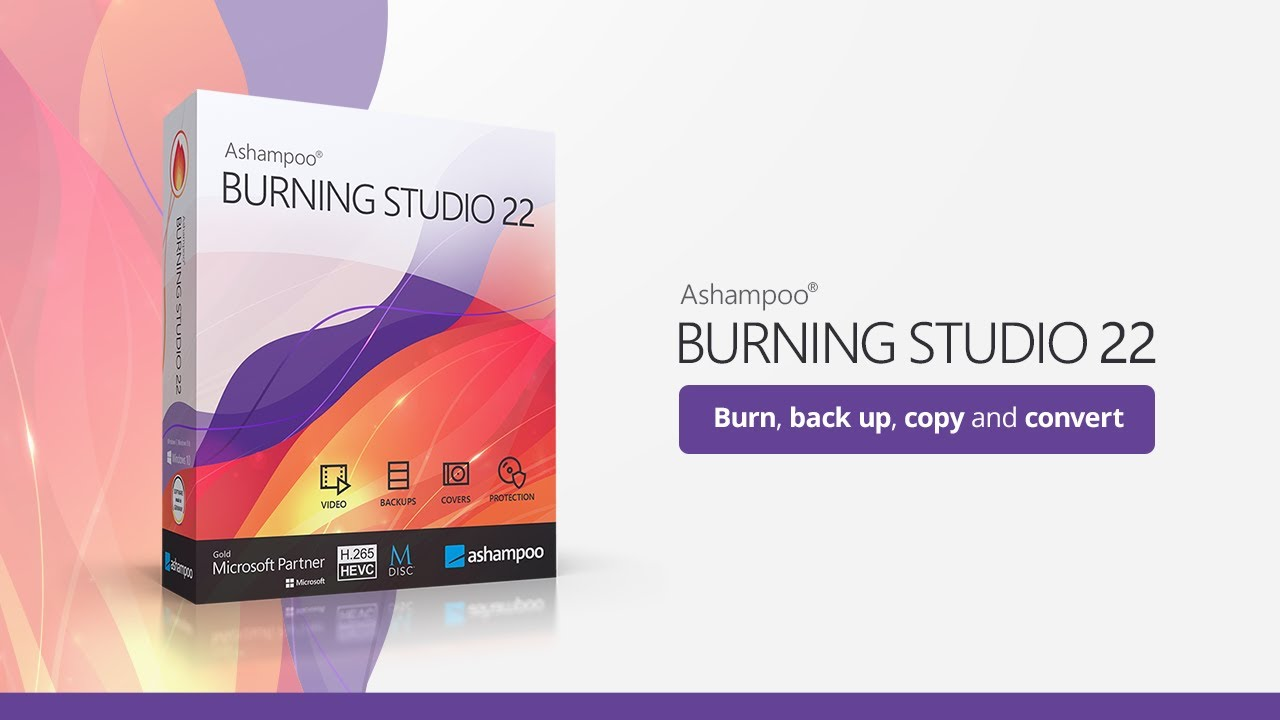 Ashampoo Burning Studio Pro 22.0.0 Crack