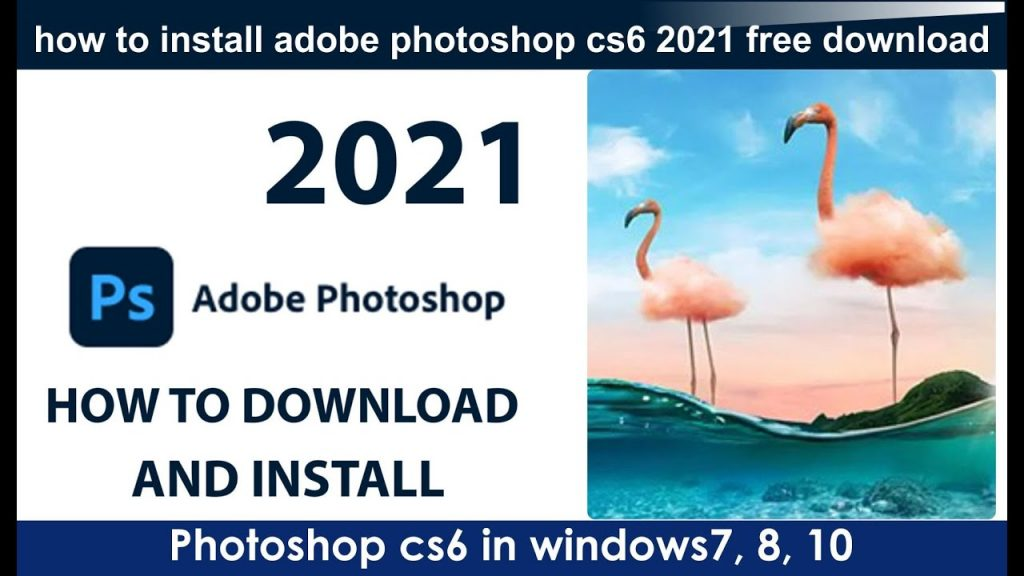 Adobe Photoshop CS6 2021