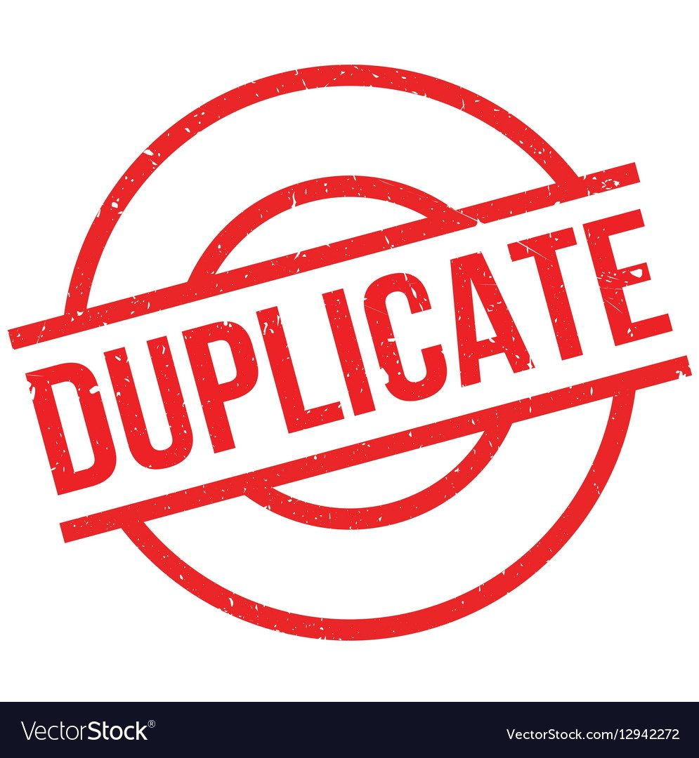 duplicate-rubber-stamp-vector-12942272-7275307